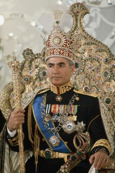 Mohammad Reza Pahlavi, the last Shah of Iran