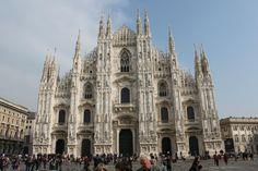 Dom Milaan- Plaatsen waar ik ben geweest