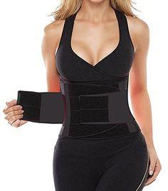 72898ca32c Camellias Womens Waist Trainer Belt Body Shaper Belt For An Hourglass  Shaper SZ8002BlackNEWM    Check