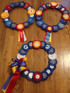 CUSTOM Horse Dog Equestrian Show Ribbon by TheRepurposedRider