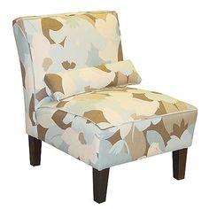 Skyline Furniture Fabric Slipper Chair