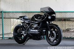 BMW K100RS Cafe Racer by AN-BU CUSTOM MOTORS (Photo by customfront.jp) #motorcycles #caferacer #motos | caferacerpasion.com