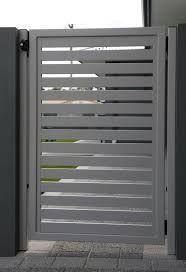Image result for modern metal garden gates order online horizontal slats