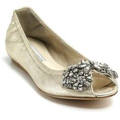 Bridal flats for the tall bride