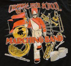 HIGH SCHOOL MARCHING BAND T-Shirt $13.95 (http://www.stopthatshirt.com/high-school-marching-band/)