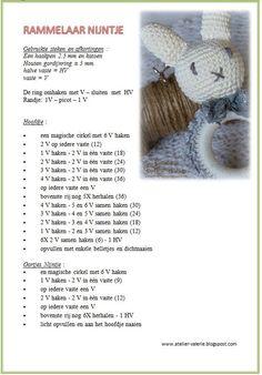 ♥♥♥♥♥♥♥♥♥♥♥♥♥♥♥♥♥♥♥♥♥♥♥♥♥♥ ™ ... Crochet Sheep, Crochet Baby Toys, Cute Crochet, Crochet For Kids, Crochet Dolls, Baby Knitting Patterns, Baby Patterns, Crochet Patterns, Baby Rattle