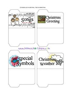 Christmas Around the World Unit Study and Lapbook Printables (FREE)