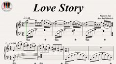 Love Story - Francis Lai, Piano https://youtu.be/FpcUkXKI-L0