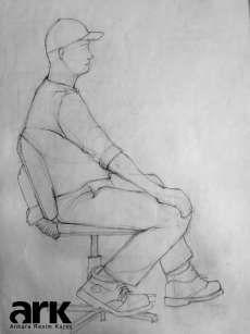 Human Figure Sketches, Figure Sketching, Figure Drawing, Art Sketches, Art Drawings, Art Sketchbook, Painting, Human Figures, Ankara