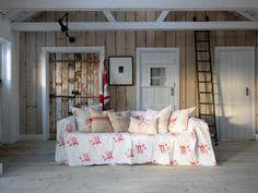 DIY ideas floral pattern living room decoration
