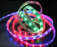 LED strip lighting is perfect for decorating your RV.