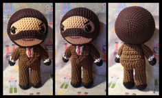Spy Team Fortress 2 amigurumi