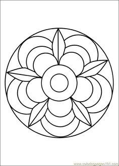 Free Printable Mandala Coloring Pages | free printable coloring page Mandalas 002 (Other > Painting)