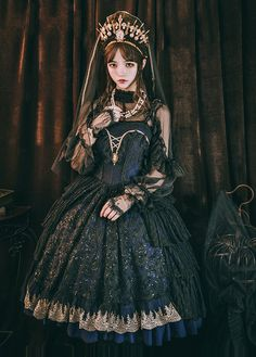 LolitaWardtobe - Bring You the latest Lolita dresses, coats, shoes, bags etc from Trustworthy Taobao indie Brands. We never resell Lolita items from untrustworthy Taobao stores. Harajuku Fashion, Kawaii Fashion, Cute Fashion, Women's Fashion, Ladies Fashion, Fashion Dresses, Fashion Tips, Fashion Trends, Mode Mori