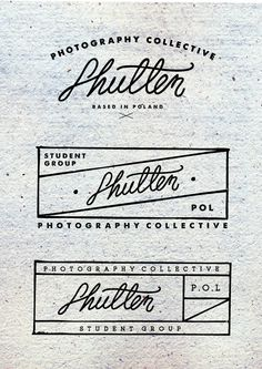 Shutter by Justyna Frąckiewicz, via Behance