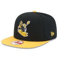 Men s Pittsburgh Steelers New Era Black Gold Historic Logo Baycik Snapback  Adjustable Hat 16510021919