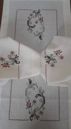 Embroidery Motifs, Embroidery Needles, Bed Runner, Bargello, Cross Stitch, Elsa, Knitting, Flowers, Crafts