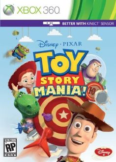 Inspired by the Disney/Pixar feature film Toy Story and the Toy Story Mania! attraction that launched at Disneyland Resort and Walt Disney World Resort last year, Toy Story Mania! is now headed exclusively to the Nintendo Wii. Disney Pixar, Heros Disney, Disney Land, Disney Toys, Walt Disney, Age Of Empires, Wii Games, Xbox 360 Games, Arcade Games