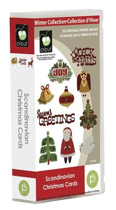 Cricut® Scandinavian Christmas Cards Cartridge--where was I when this came out?! NEED $29.99