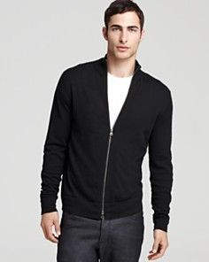 Theory Leiman Full Zip Sweater