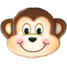 "SuperShape - Jungle Monkey Balloon 35"""