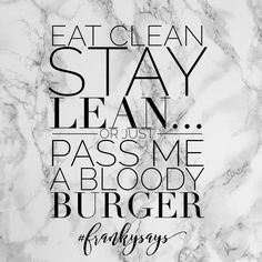 There's nothing more satisfying than a big juicy burger! Fact.