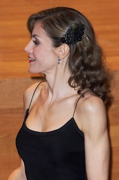 Queen Letizia of Spain attends the 'XXV Musical Week' closing concert at the Principe Felipe Auditorium during the 'Princess of Asturias 2016 Awards on October 20, 2016 in Oviedo, Spain.