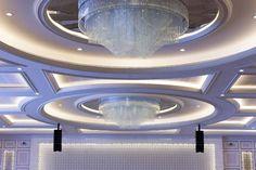 al rufaa wedding hall complex Doha Crystal Light Fixture, Light Fixtures, Vestibule, Doha, Cut Glass, Chandelier, Ceiling Lights, Crystals, Celebrities