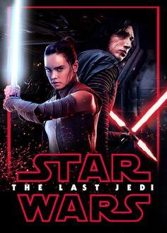 Rey & Kylo Ren 'The Last Jedi' Poster