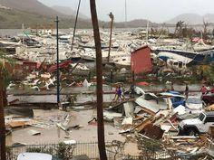 Damage Caused by Hurricane Irma   Design & Photography - BabaMail