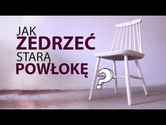 Jak usunąć starą powłokę z mebla? Renowacja mebli. Lekka yt. - YouTube Upcycled Furniture, Furniture Decor, Old Wood, Handmade Home, Home Hacks, Home Staging, Vintage Decor, Home Remodeling, Diy And Crafts