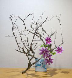 草月/夏のいけばな作品/2012年5月