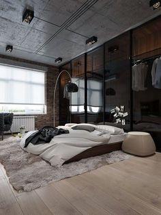 45 classic men bedroom ideas and designs interior designs rh pinterest com