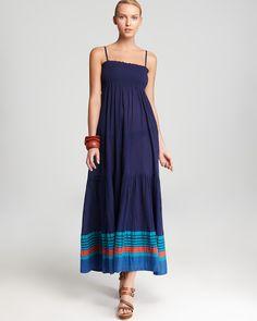 edef4ce9212a French Connection Maxi Dress - Sunny Yarn Dye Stripe Beach