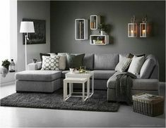 80+ Gorgeous White And Grey Living Room Interior Design