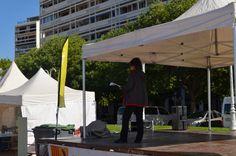 Journée Handisport Passion Partage, place d'Armes à Toulon, le 17 mai 2014. Présentation de la journée