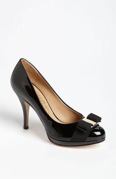Salvatore Ferragamo  pumps. My aunt Norma always wore Ferragamo. Makes me smile. Love