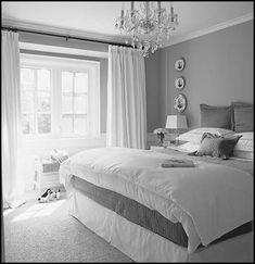Bedroom Painting Designs : Grey Bedroom Paint Colors Home Decor Interior Design Furniture ~ Grey And Yellow Bedroom. Pink And Grey Bedroom. Soft Grey Bedroom, Grey Bedroom Design, Grey Room, Bedroom Designs, Mauve Bedroom, Feminine Bedroom, Bedroom Yellow, Bedroom Black, Double Bedroom
