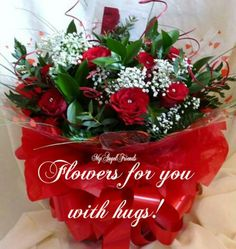 To my dear sister, flowers for you with Love♡♡♡.