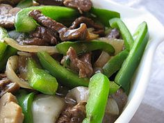 Chinese Pepper Steak -- blogchef.net -- Eric liked it! Added to rotation!