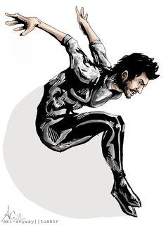 Superhero Zayn fan art one direction drawing