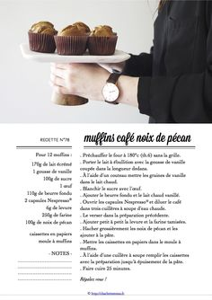 Carton Recette n°78 Muffins, Recipe Cards, Cupcakes, Eat, Cooking, Skimmed Milk, Recipes, Baking Center, Muffin