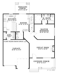 Home Plans HOMEPW18882 - 1,654 Square Feet, 3 Bedroom 2 Bathroom Craftsman Home with 2 Garage Bays