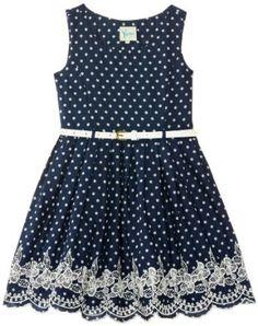Vestidos azules con lunares 3 Little Miss Dress, Little Girl Dresses, Baby Dress Design, Kids Frocks, Dresses Kids Girl, Cute Outfits For Kids, Apparel Design, Toddler Dress, Casual Dresses