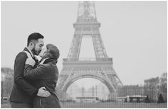 Move to Paris for Love / © Claire Morris Photography / www.frenchweddingstyle.com /