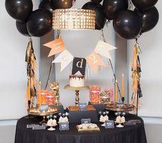 Una mesa elegante para un cumpleaños especial / An elegant table for a special birthday party