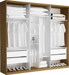Resultado de imagem para quartos pequenos de casal divisão dos armarios