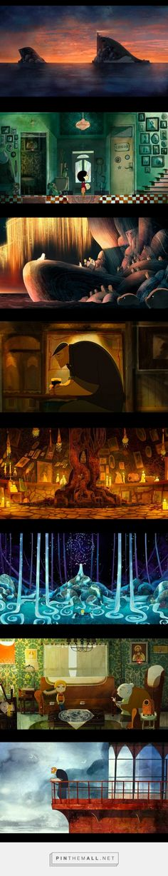"Images from movie ""Song of the Sea"""