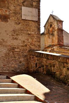 Via della Luna, #Perugia, Umbria, Italy