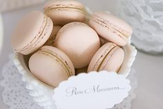 Pretty Pink Macarons